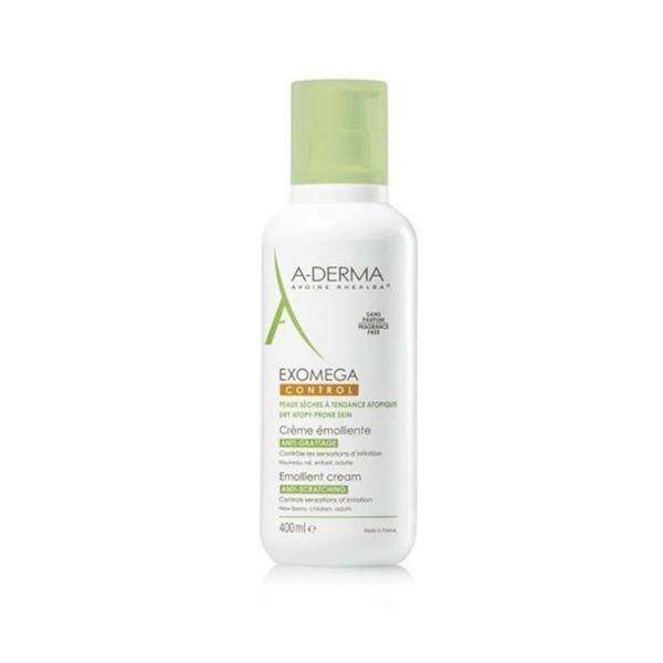 A-Derma Exomega crema corporal pieles atópicas y sensibles 400ml