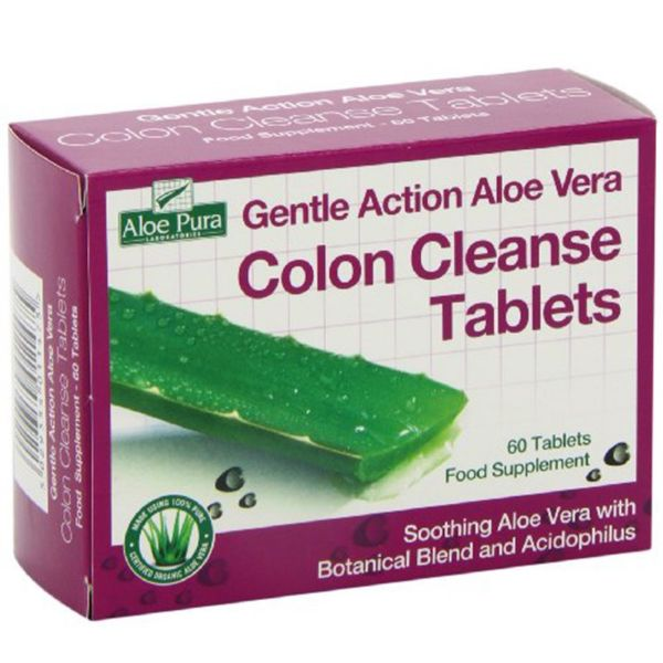 ALOE VERA COLON CLEANSE ADVANCED 60 COMPRIMIDOS
