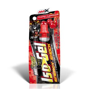 AMIX ISOGEL ENERGY SHOCK CEREZA LIMONADA 70ML
