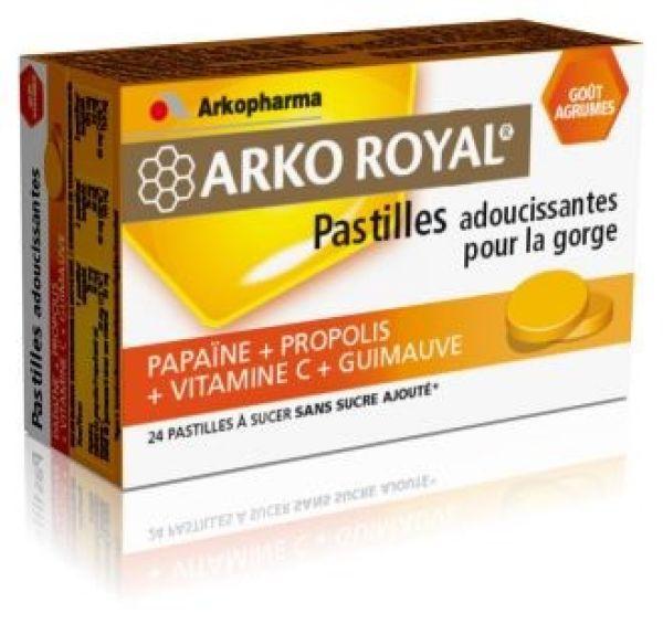 ARKO ROYAL PASTILLAS CALMANTES GARGANTE 24 UNIDADES