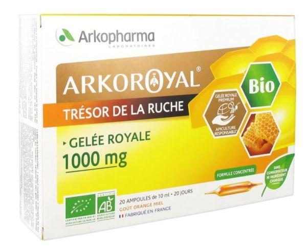 ARKOPHARMA JALEA REAL 1000MG 20 AMPOLLAS 15MLX2