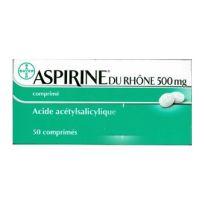ASPIRINA DU RHONE 500MG 50 COMPRIMIDOS