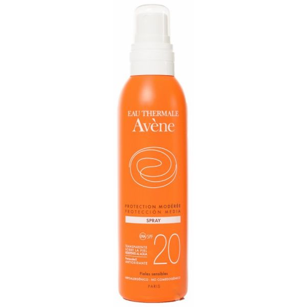 AVENE SOLAR SPF20 SPRAY 200ML
