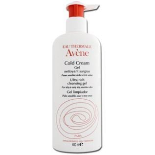 AVENE COLD CREAM GEL LIMPIADOR SURGRAS 400ML