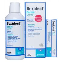 BEXIDENT TRICLOSAN COLUTORIO 500ML + DENTÍFRICO 75ML
