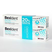 BEXIDENT TRICLOSAN PASTA DENTAL 125ML X 2UNIDADES