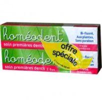BOIRON HOMEODENT DENTIFRICO 2 A 6 ANOS FRAMBUESA 50ML X2
