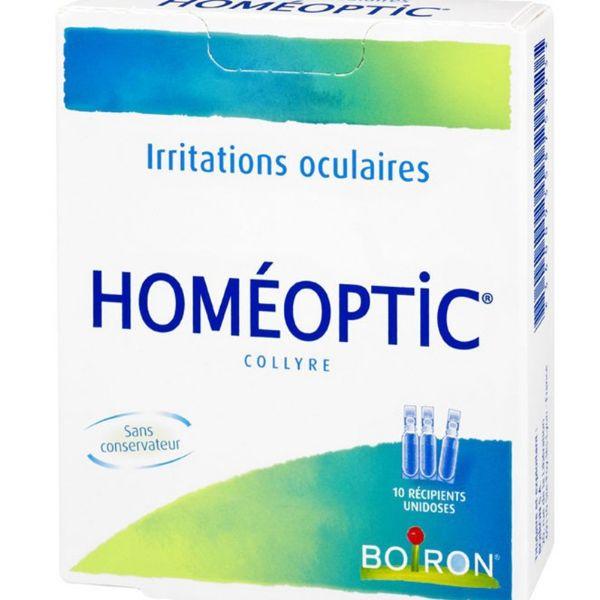 BOIRON HOMEOPTIC COLIRIO 0 4ML 10 UNIDOSES