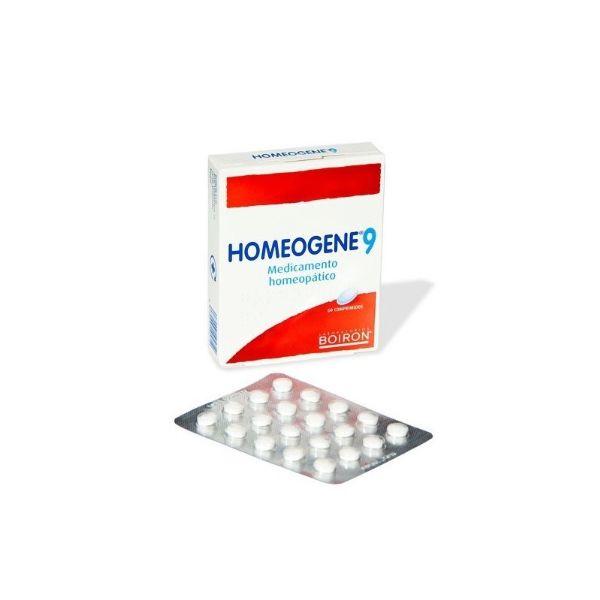 Boiron homeogene 9 60 comprimidos estados gripales y resfriados