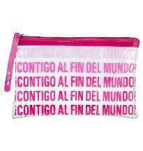 BOLSA BEAUTY CONTIGO AL FIN DEL MUNDO