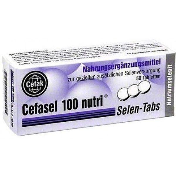 CEFASEL 100 NUTRI 50 COMPRIMIDOS