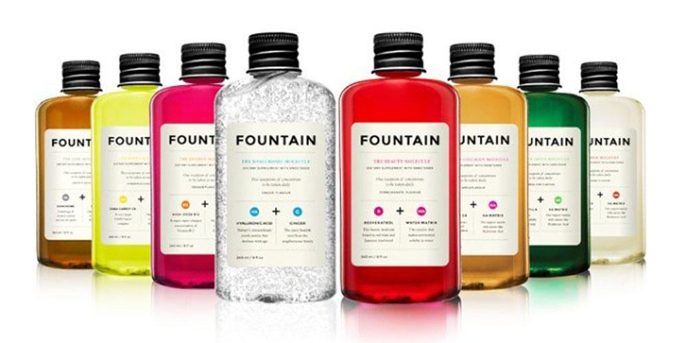 Fountain y sus moléculas para sentirte mejor