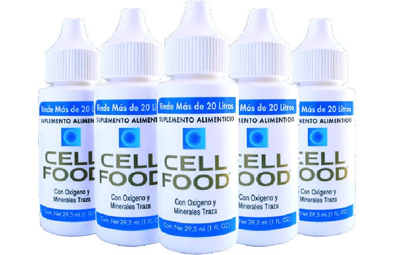 Cellfood: oxigena, desintoxica, revitaliza tu cuerpo