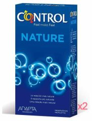 CONTROL ADAPTA NATURE 12 UNIDADES PACK DE 2