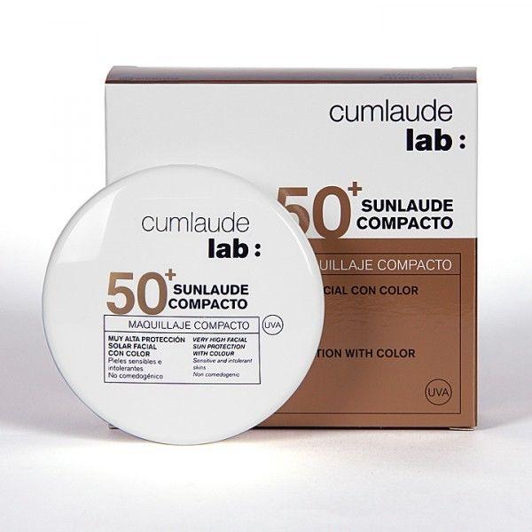 CUMLAUDE SUNLAUDE SPF50 MAQUILLAJE COMPACTO 01 LIGHT