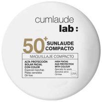 CUMLAUDE SUNLAUDE SPF50 MAQUILLAJE COMPACTO 02 MEDIUM