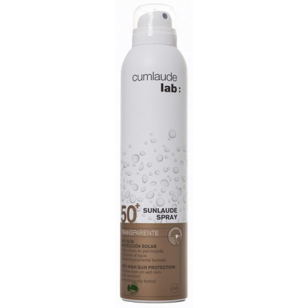 CUMLAUDE SUNLAUDE SPRAY TRANSPARENTE SPF50+ 200ML