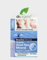 DR. ORGANIC DEAD SEA MINERALS NIGHT CREAM 50ML