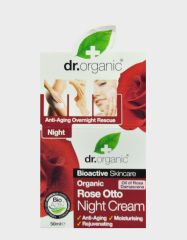 DR. ORGANIC ROSE NIGHT CREAM 50ML