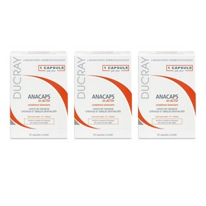 DUCRAY ANACAPS TRI ACTIV 30 CAPSULAS X3