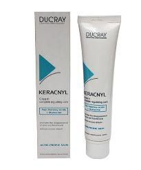 Ducray Keracnyl crema reguladora completa 30ml para pieles grasas y con tendencia acnéica