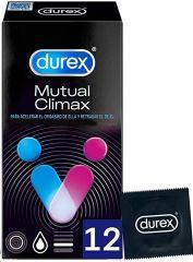 DUREX MUTUAL CLIMAX PRESERVATIVOS 12 UD