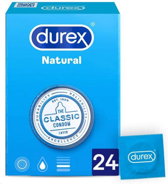 DUREX PRESERVATIUS NATURAL 24 UNIDADES