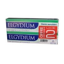 ELGYDIUM DENTIFRICO DIENTES SENSIBLES GEL 75ML x2 UNIDADES