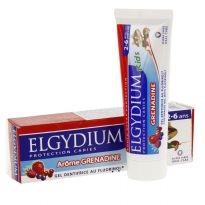 ELGYDIUM JUNIOR DENTIFRICO GRANADINA 2-6 ANOS 50ML
