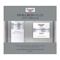 EUCERIN HYALURON-FILLER CREMA DIA PIEL NORMAL-MIXTA 50ML + CREMA NOCHE 50ML