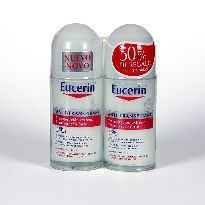 EUCERIN DESODORANTE ROLL-ON 50MLX2