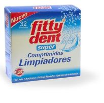 FITTY DENT SUPER LIMPIADOR 32 COMPRIMIDOS