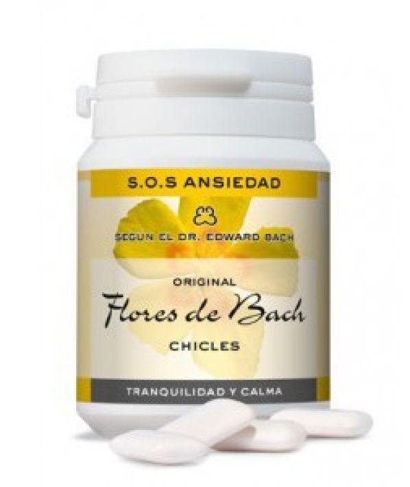 FLORES DE BACH CHICLES ANSIEDAD 40 GRAGEAS