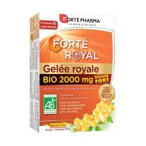 FORTE PHARMA JALEA REAL BIO 2000MG 20 AMPOLLAS