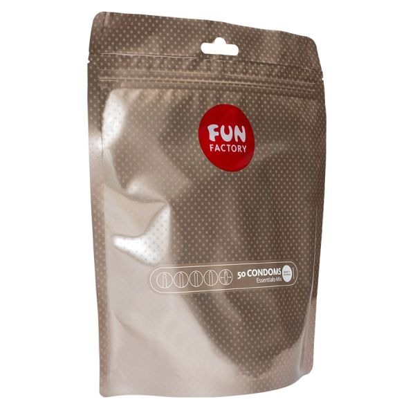 FUN FACTORY PRESERVATIVOS ESSENTIALS MIX 50 UNIDADES