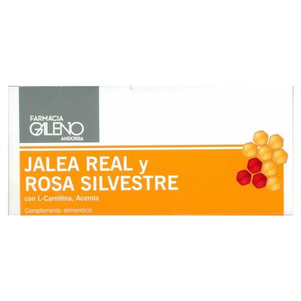 GALENO JALEA REAL Y ROSA SILVESTRE 10 AMPOLLAS