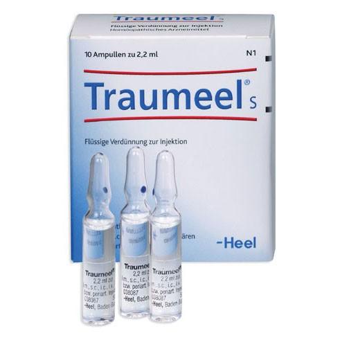 HEEL TRAUMEEL S 10 AMPOLLAS