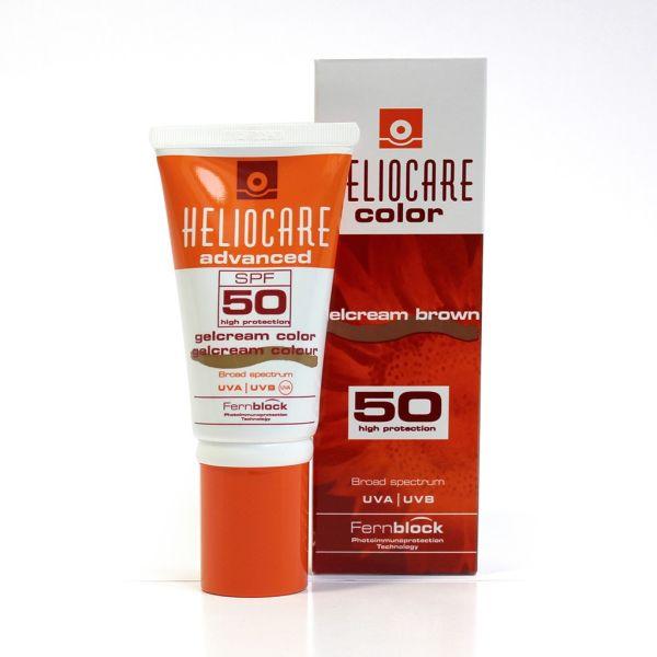 HELIOCARE ADVANCED IP50 GEL CREMA COLOR BROWN 50ML
