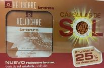 HELIOCARE BRONZE 30 CAPSULAS X2