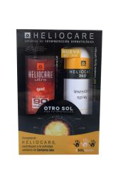 Heliocare IP90 gel 50ml+360º invisible spray spf50+ 200ml