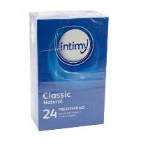 INTIMY PRESERVATIVOS CLASSIC 24U