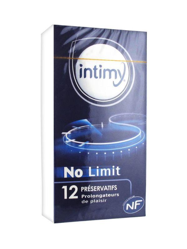 INTIMY PRESERVATIVOS NO LIMIT 12U
