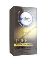 INTIMY PRESERVATIVOS PURE FINESSE ABSOLUE 18U