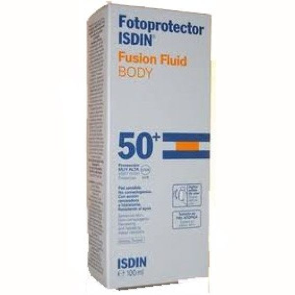ISDIN FOTOPROTECTOR FUSION FLUID BODY IP50 100ML
