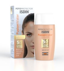 ISDIN FOTOPROTECTOR IP50+ FUSION WATER CON COLOR 50ML
