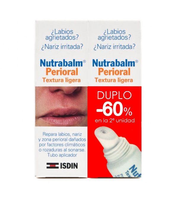 ISDIN NUTRABLAM FLUIDO TUBO 10 ML PACK DE 2 UNIDADES