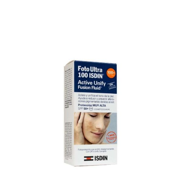 ISDIN FOTOPROTECTOR ULTRA IP100 FF ACTIVE UNIFY 50ML