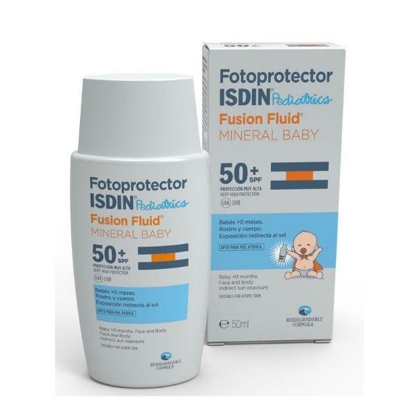 ISDIN PEDIATRIC IP50+ FUSION FLUID MINERAL BABY 50ML