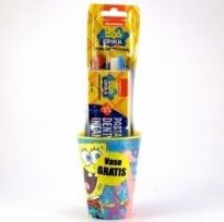 Kin Kit higiene dental Bob Esponja