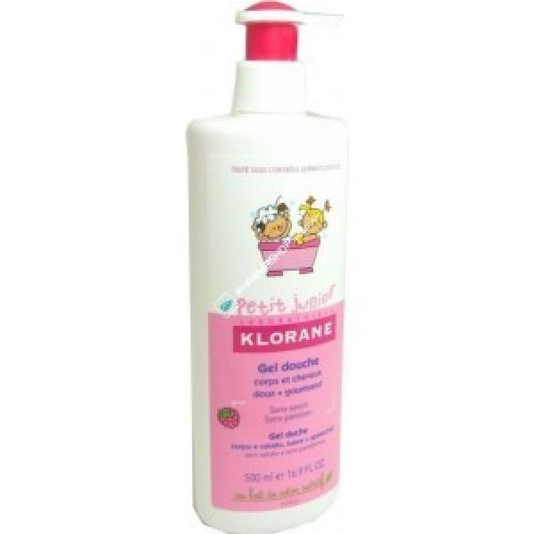 KLORANE PETIT JUNIOR GEL DUCHA FRAMBUESA 500ML